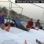 House Boat on Ganges