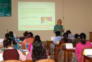 Sara teaching 2