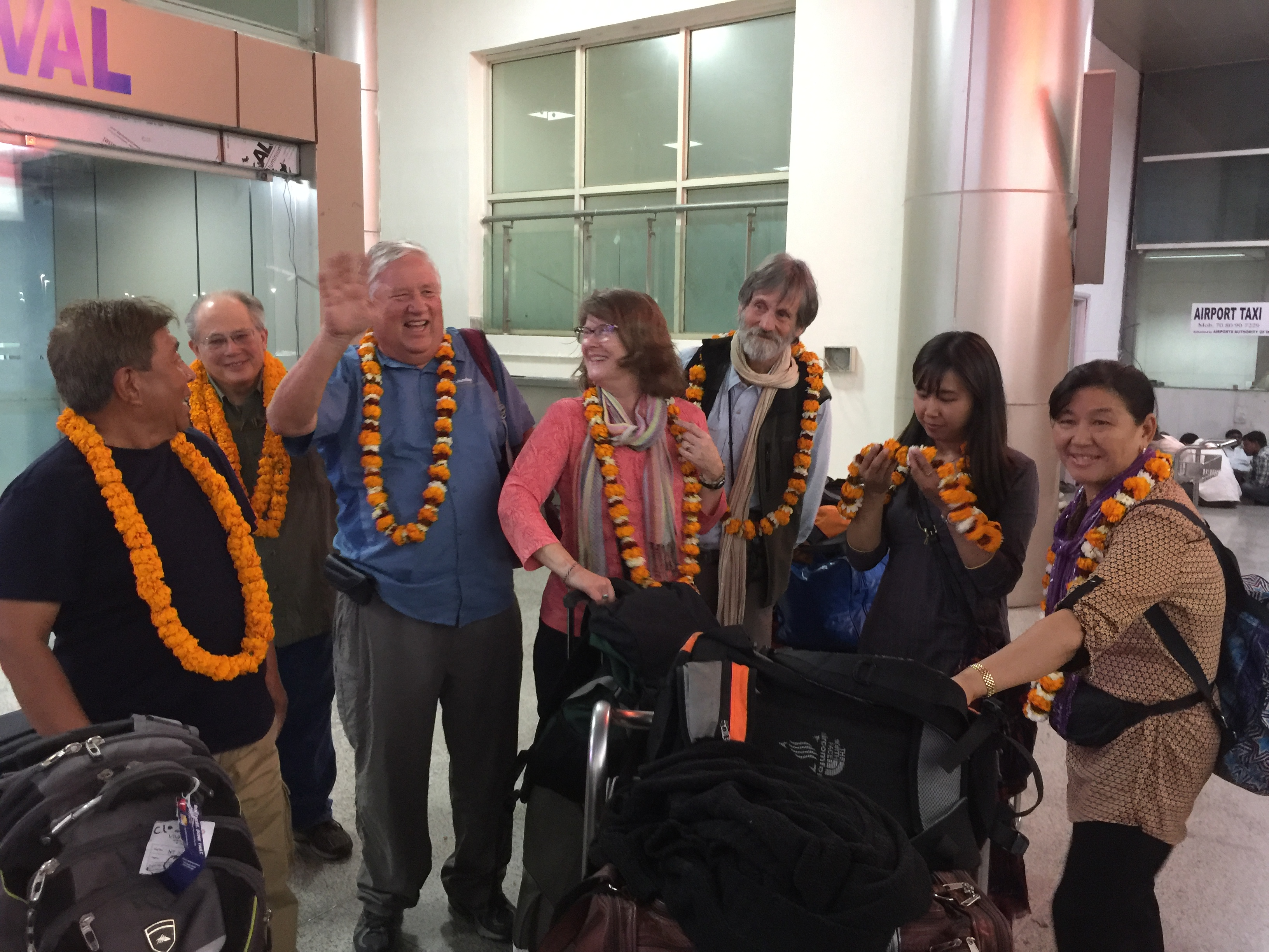 Arrival in Varanasi