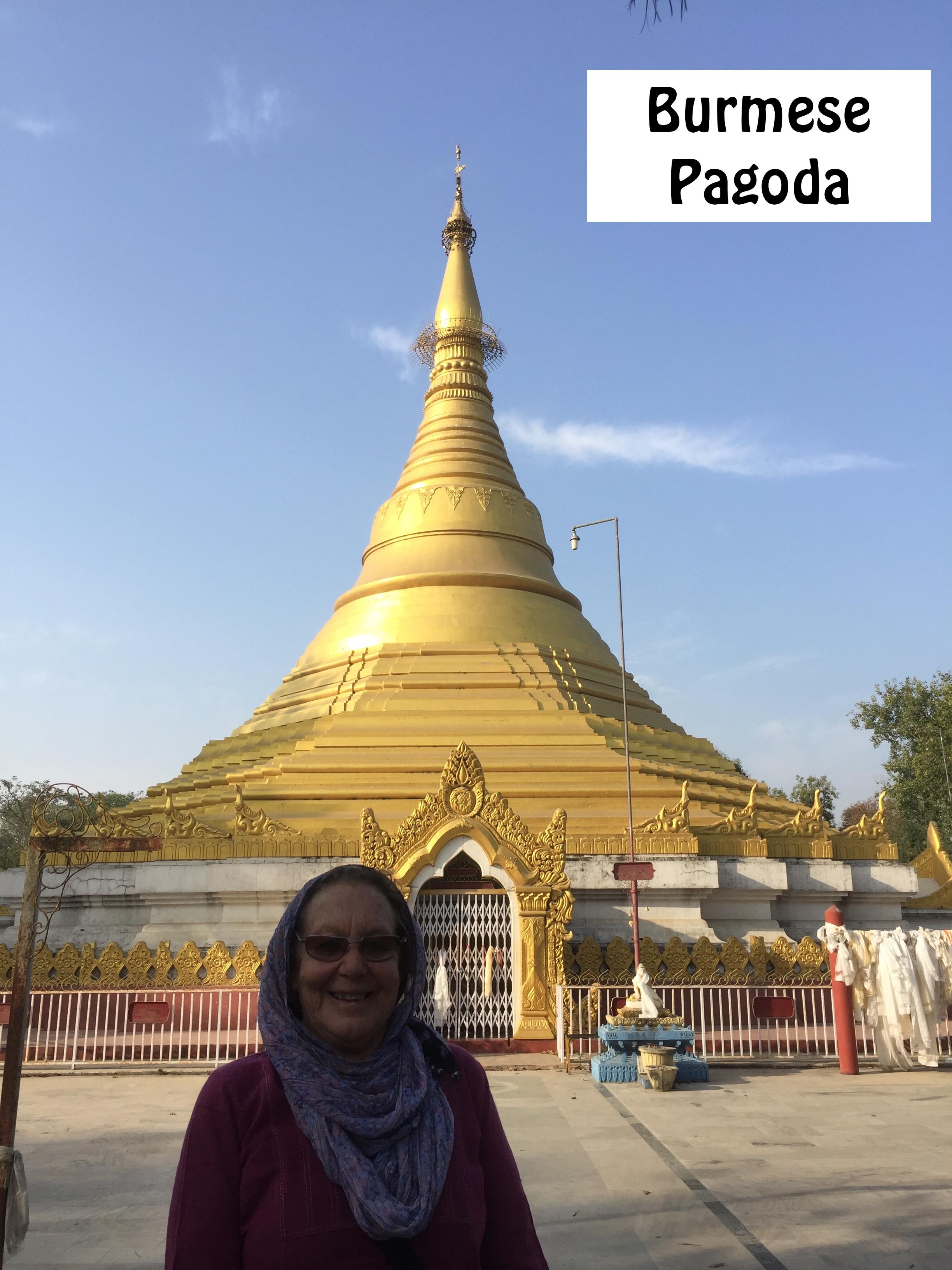 Burmese Pagoda Lumbini