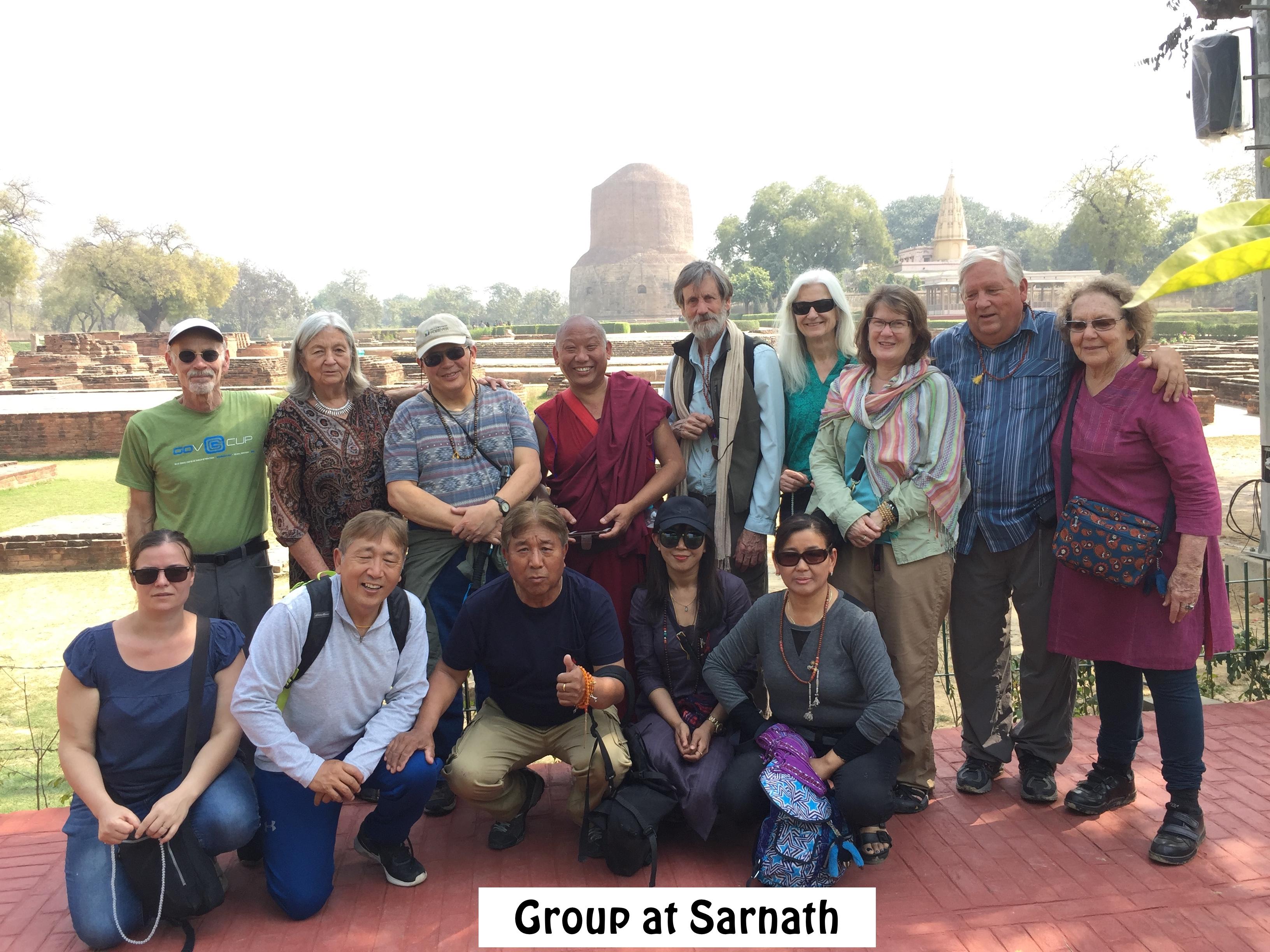 Group at Sarnath
