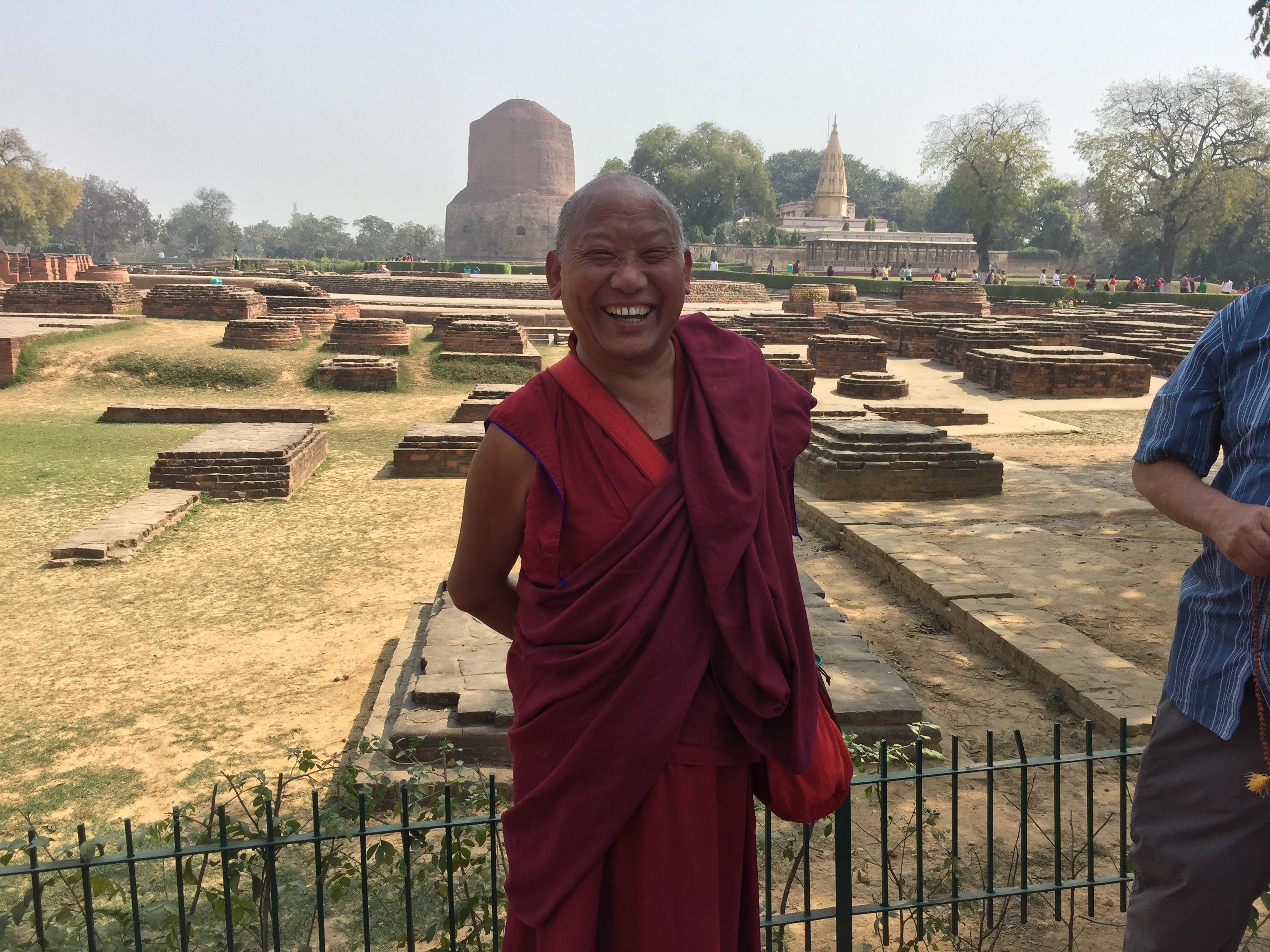 Lama Paljor at Sarnath