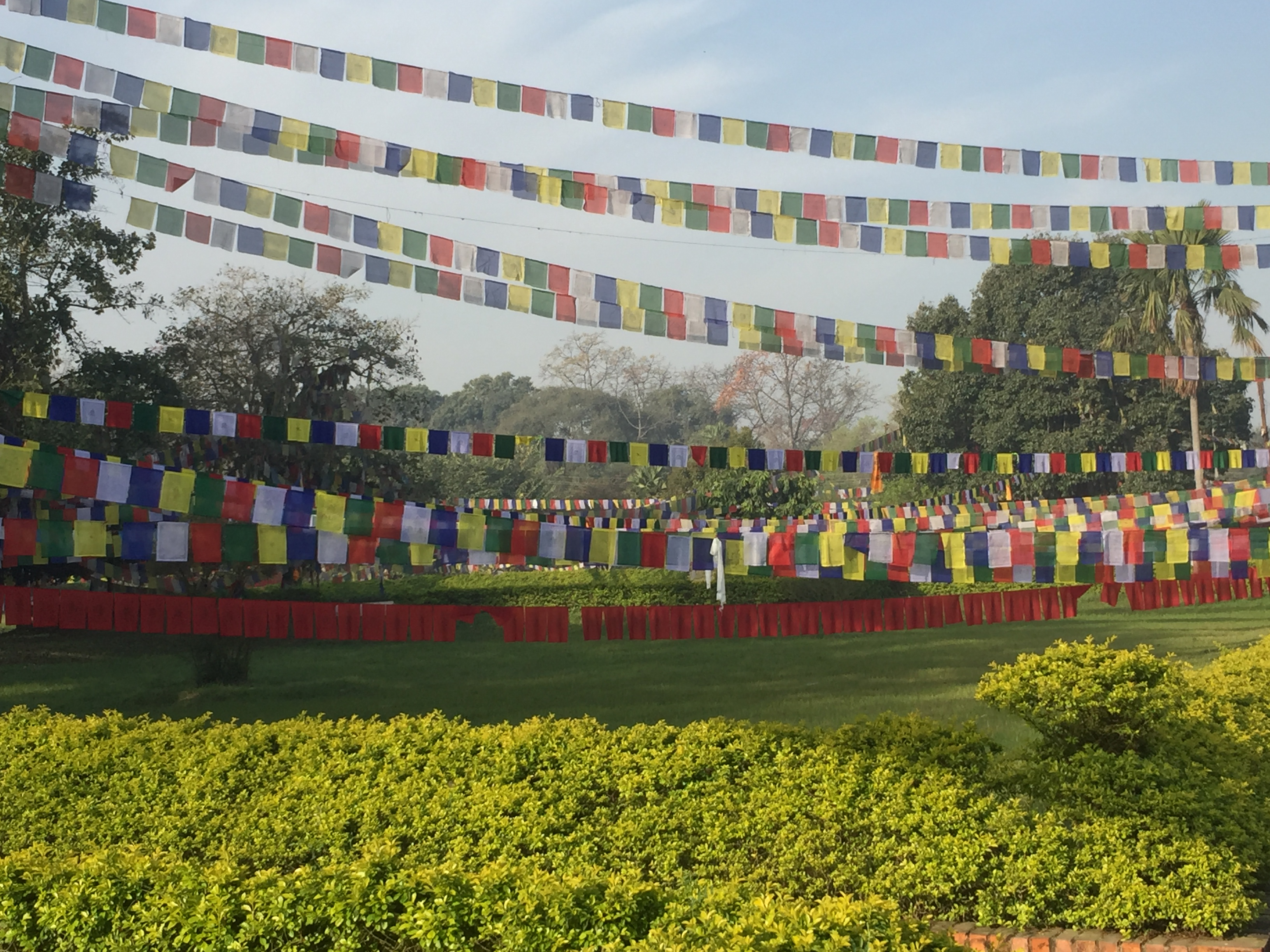 Lumbini Prayer Flags