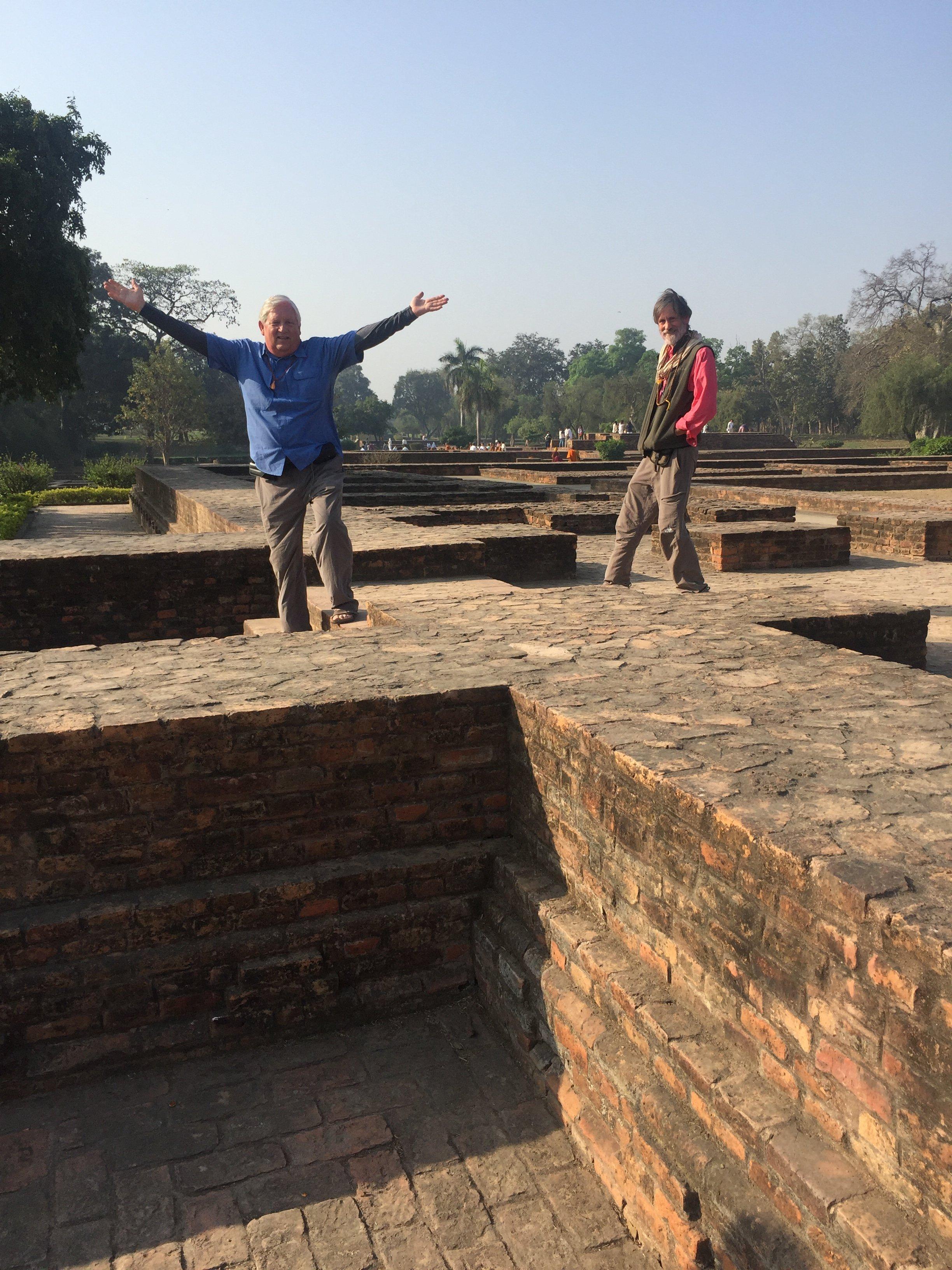 Ruins at Shrivasti