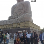 Bodh Gaya - giant Buddha  copy