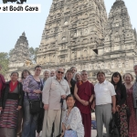 Group photo at Bodh Gaya