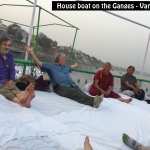 House Boat on Ganges