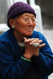 Grandma in Sikkim