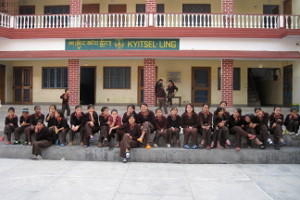 Children at Kyitsel-ling
